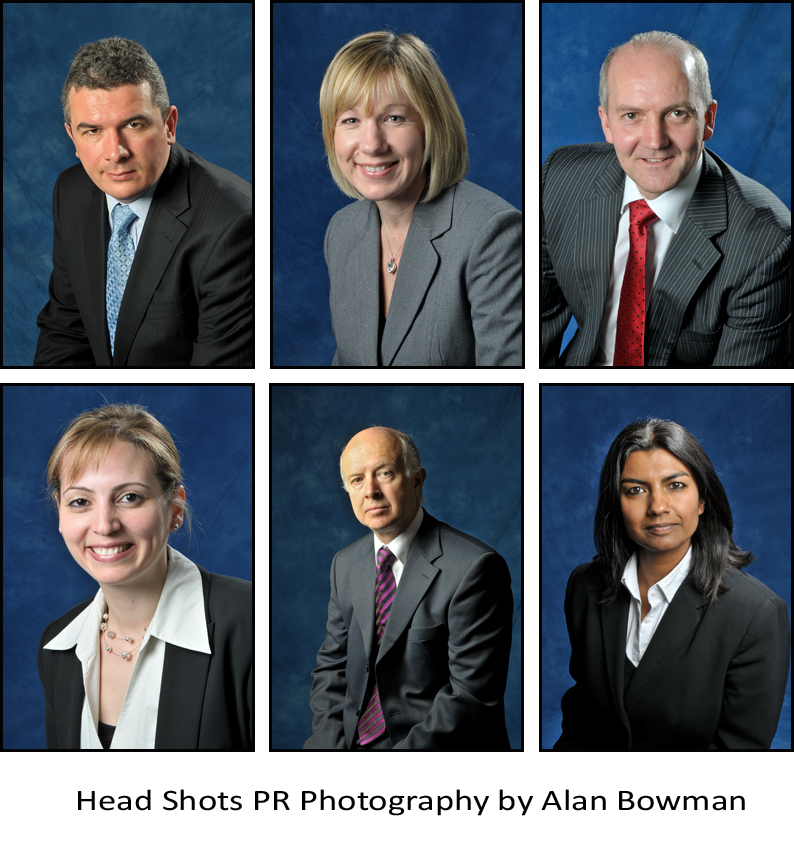 Commercial head shots